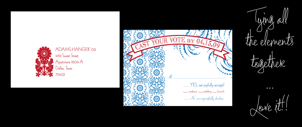 RSVP and RSVP Envelope