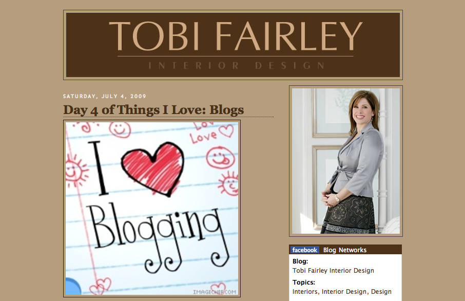 Tobi Fairley 'Things I Love'