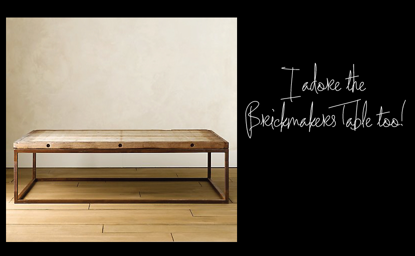 Brickmakers Table
