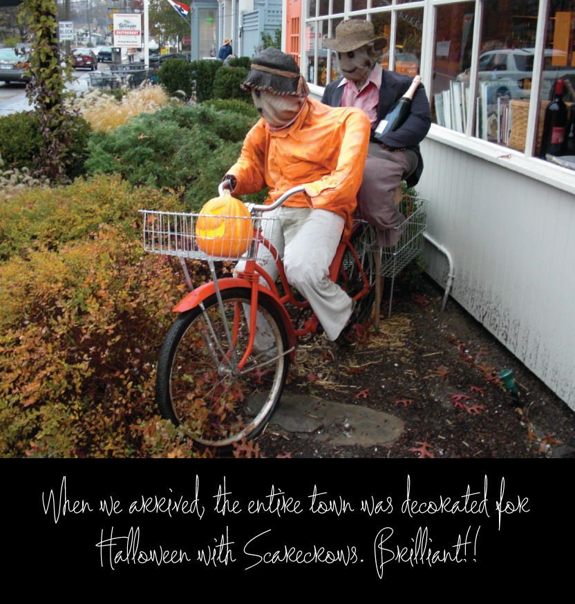 Scarecrows in Town