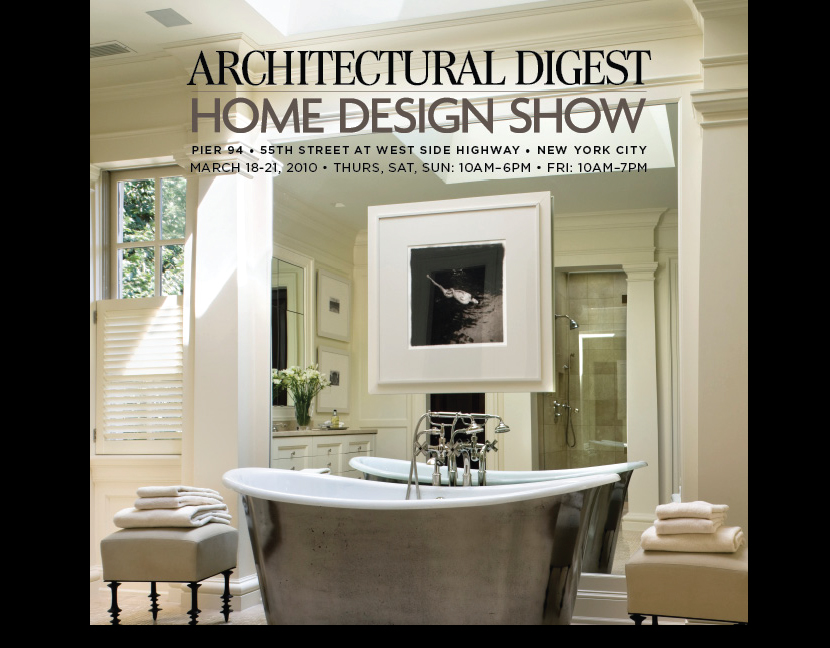 few weeks ago i entered to win two tickets to the ad home design show