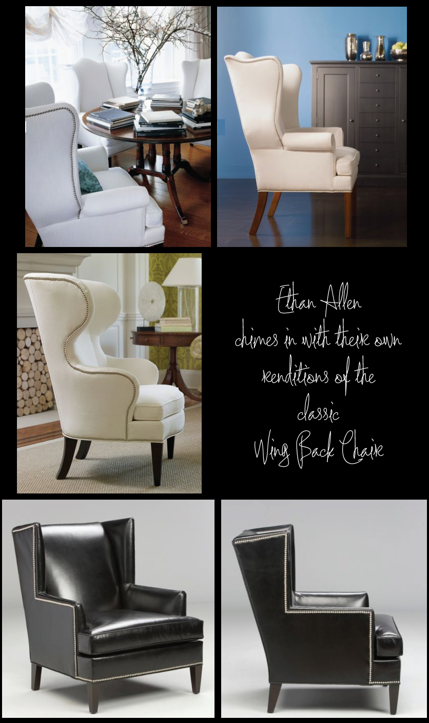 100 ethan allen wingback chairs ethan allen modern style le