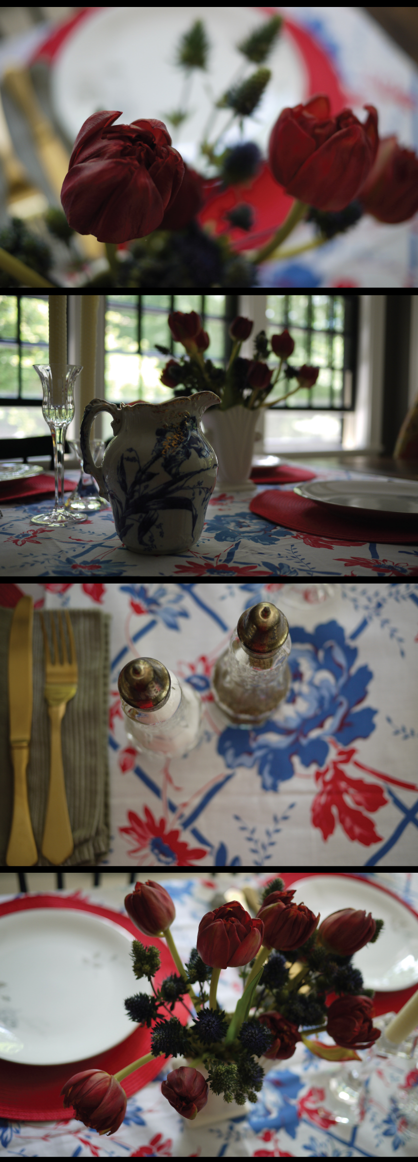 red-white-and-blue-tablescape