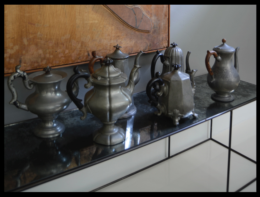 Vintage-Pewter-Coffee-Pot-Collection