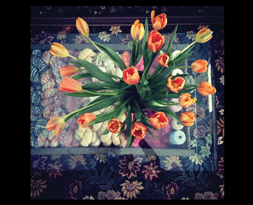 Tulips-in-the-Fireplace-Room