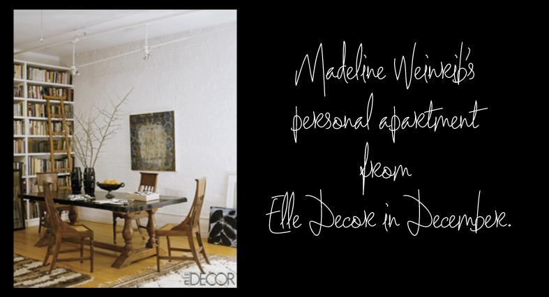 Madeline Weinrib's Apartment