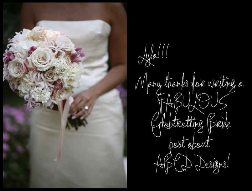Thanks Lyla, The Globetrotting Bride!