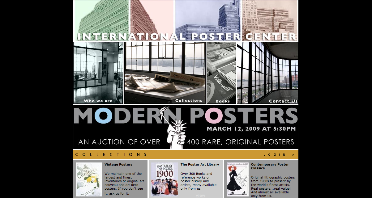 Modern Poster Auction