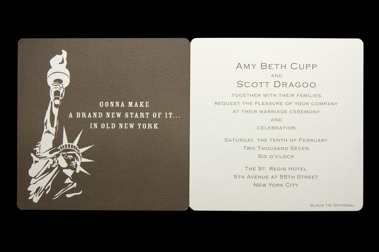 Amy & Scott's Invite