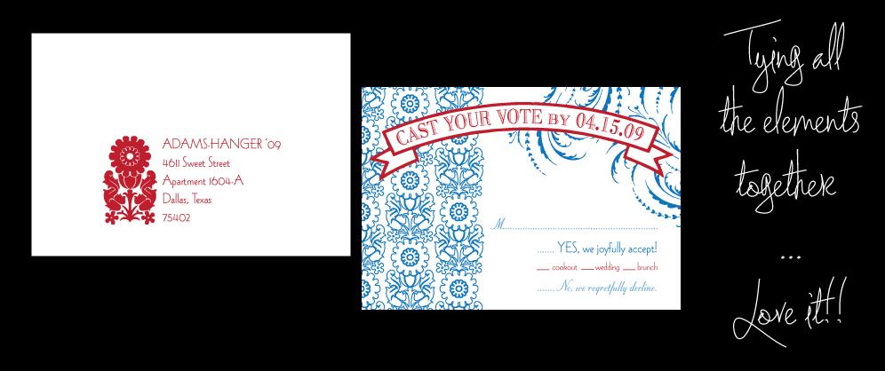 RSVP and RSVP Envelope