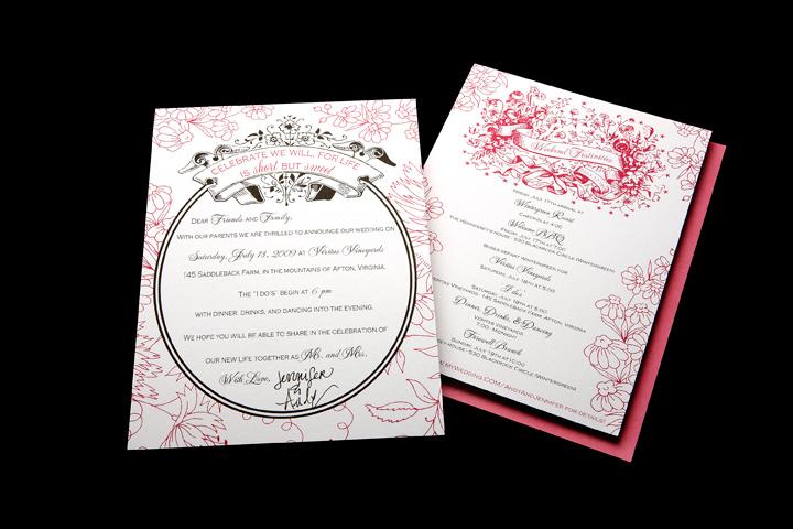 Wedding Invitation, Weekend Activities