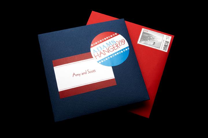 Inner Envelope, Adams-Hanger '09 Campaign Logo Sticker