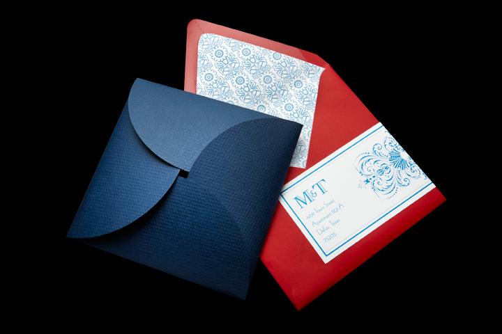 Outer Envelope, Mailing Label, Envelope Liner