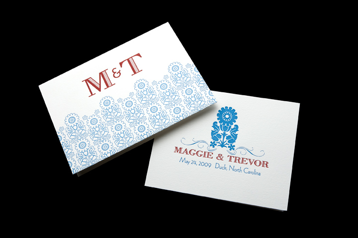 Personal Stationery, Program Cover