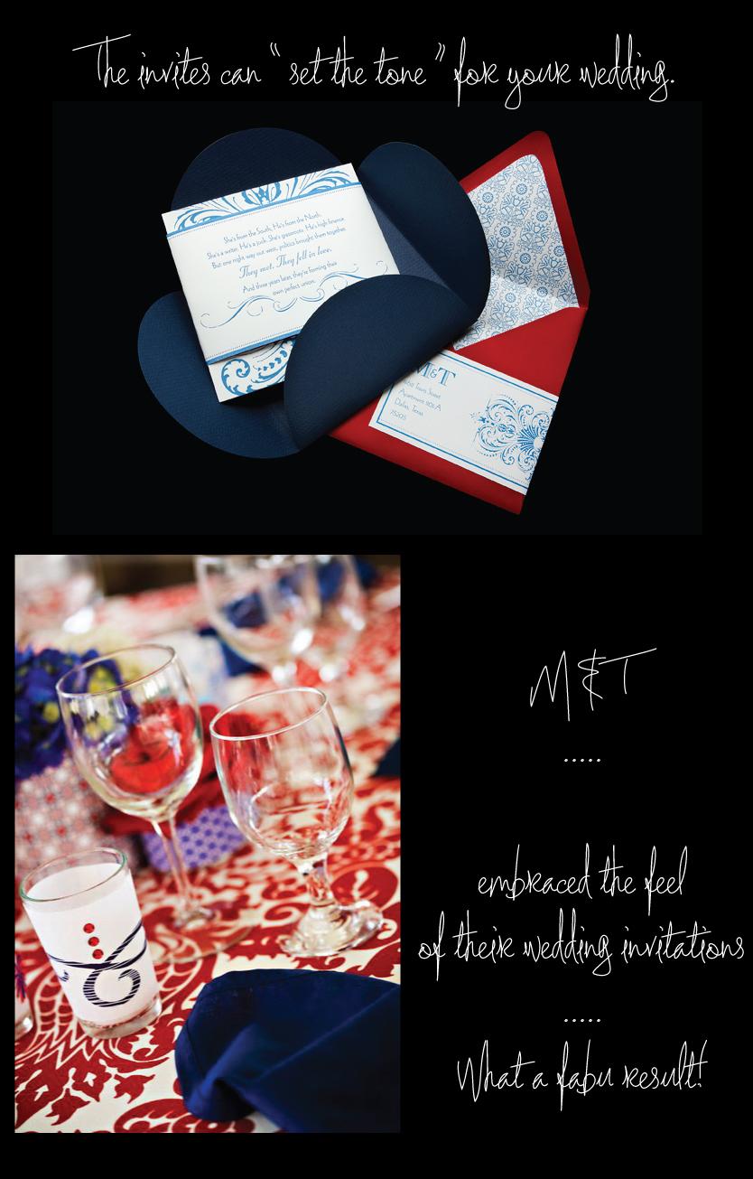 Wedding Invitations Set The Tone
