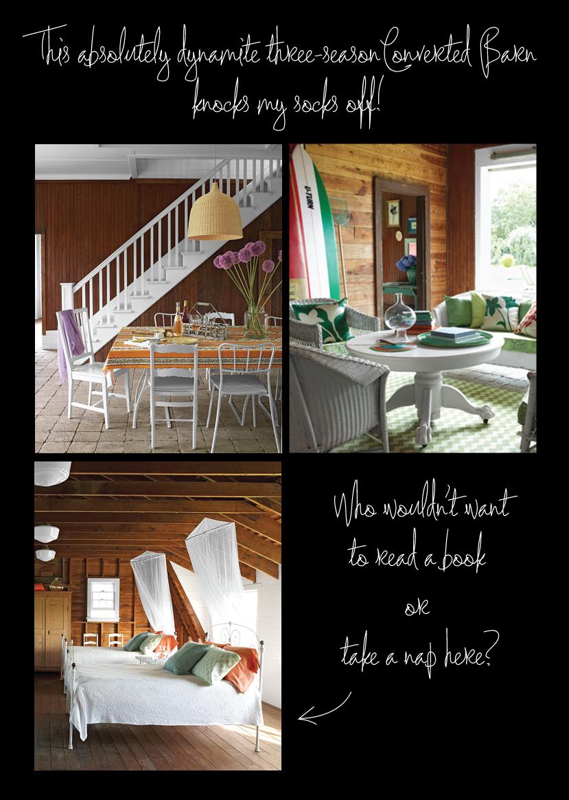 Martha Stewart - converted barn