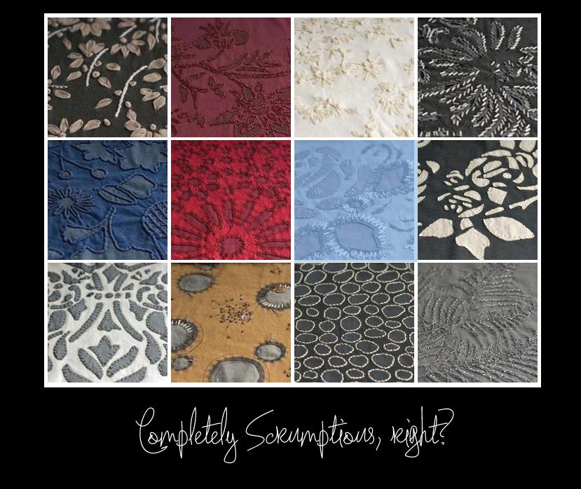 scrumptious textiles