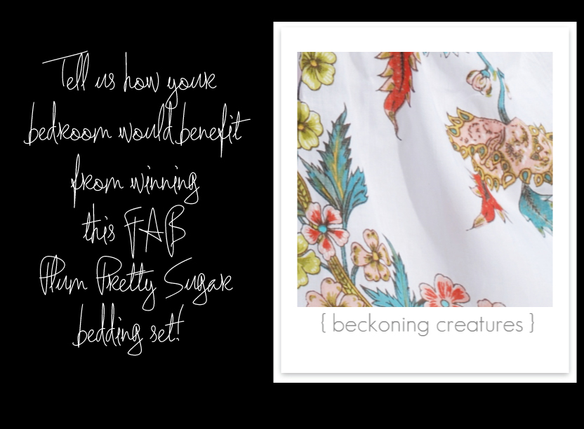 Beckoning Creatures by Plum Pretty Sugar