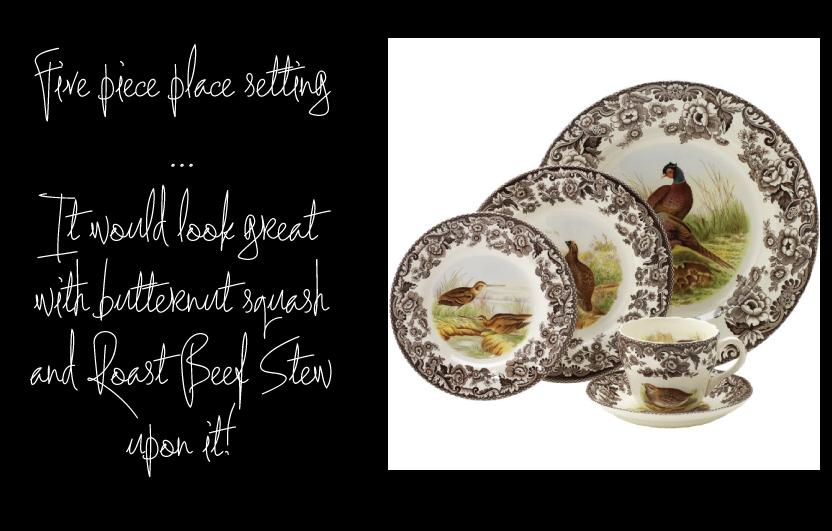 Woodland via European Tableware