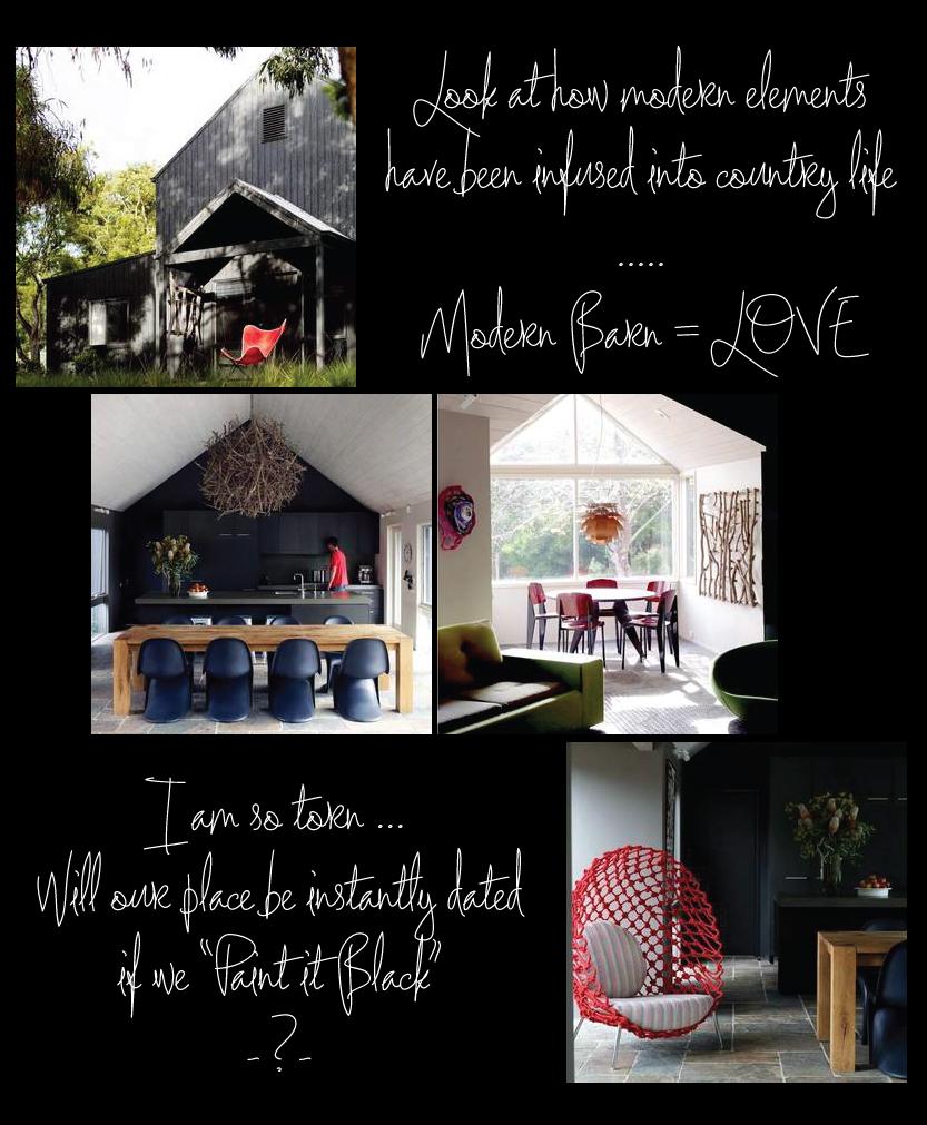 Modern Barn via Living, Etc.