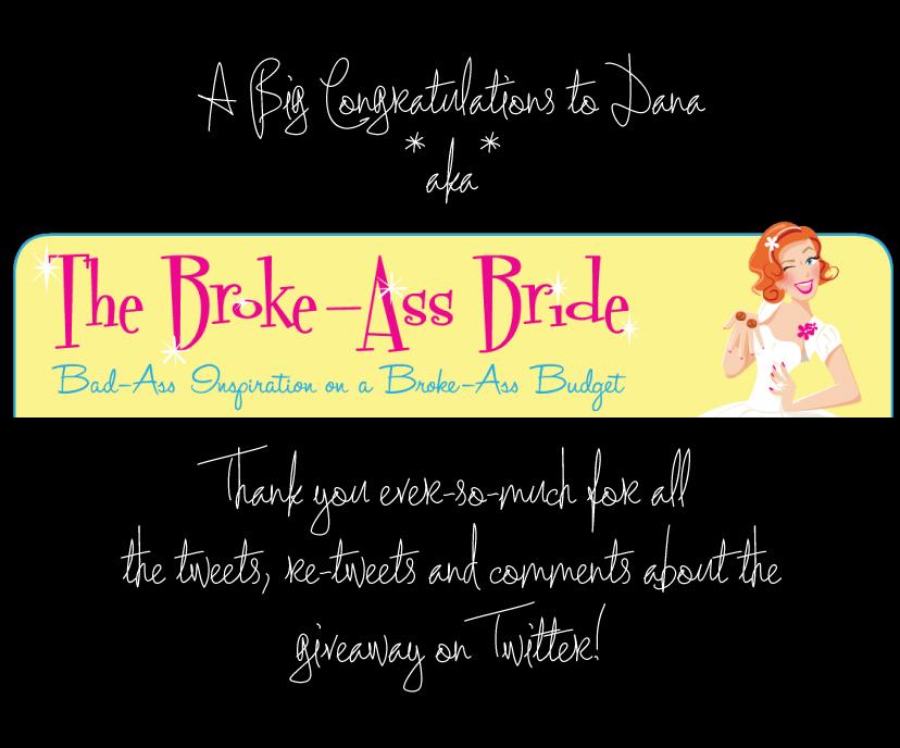 The Broke Ass Bride