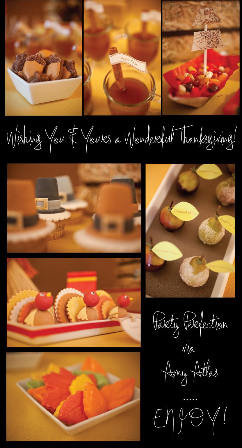 Amy Atlas Thanksgiving