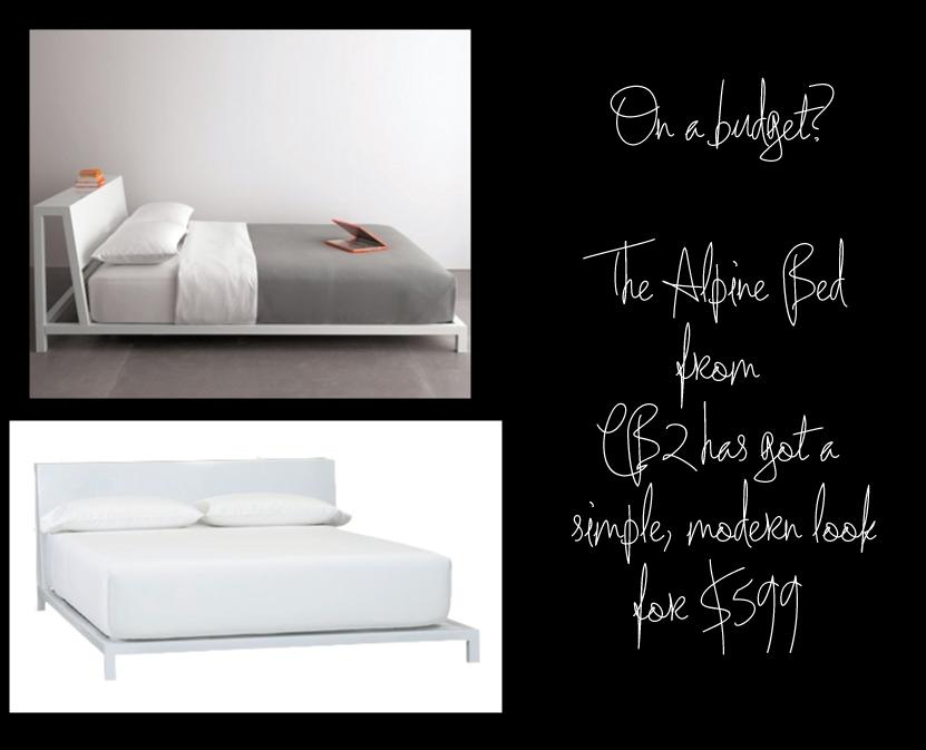 CB2 Alpine Bed