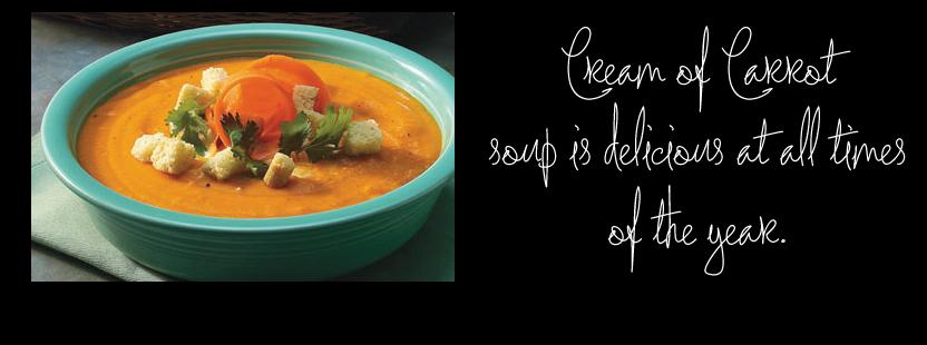 Cream of Carrot Soup {image via Company's Coming}