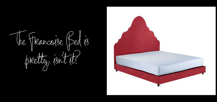 Francoise Bed