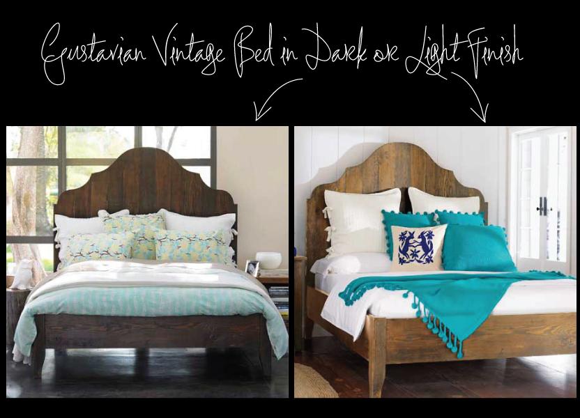 Gustavian Vintage Bed from Viva Terra
