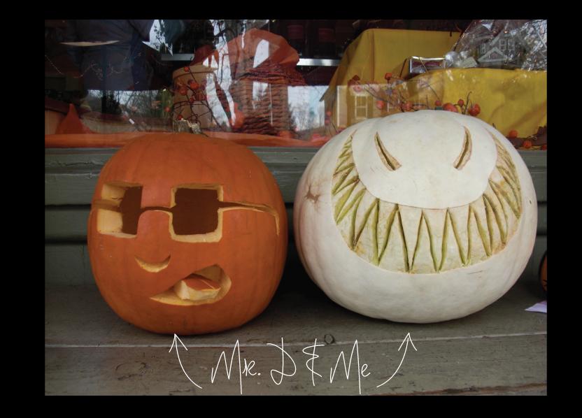 House Hunting Pumpkin Heads