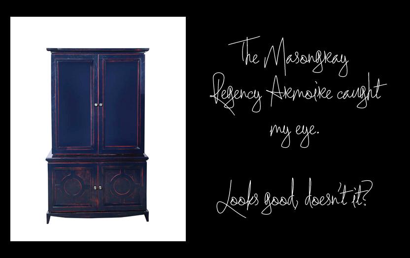 Masongray Regency Armoire