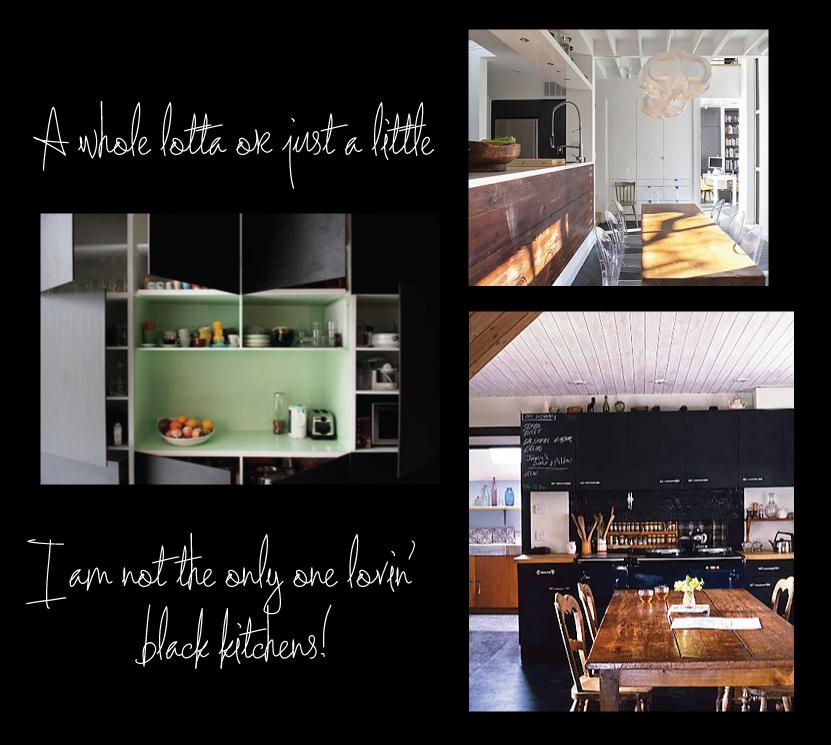 Roseland Greene black kitchens