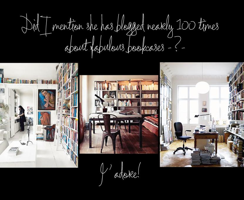 Roseland Greene Bookcase Inspiration