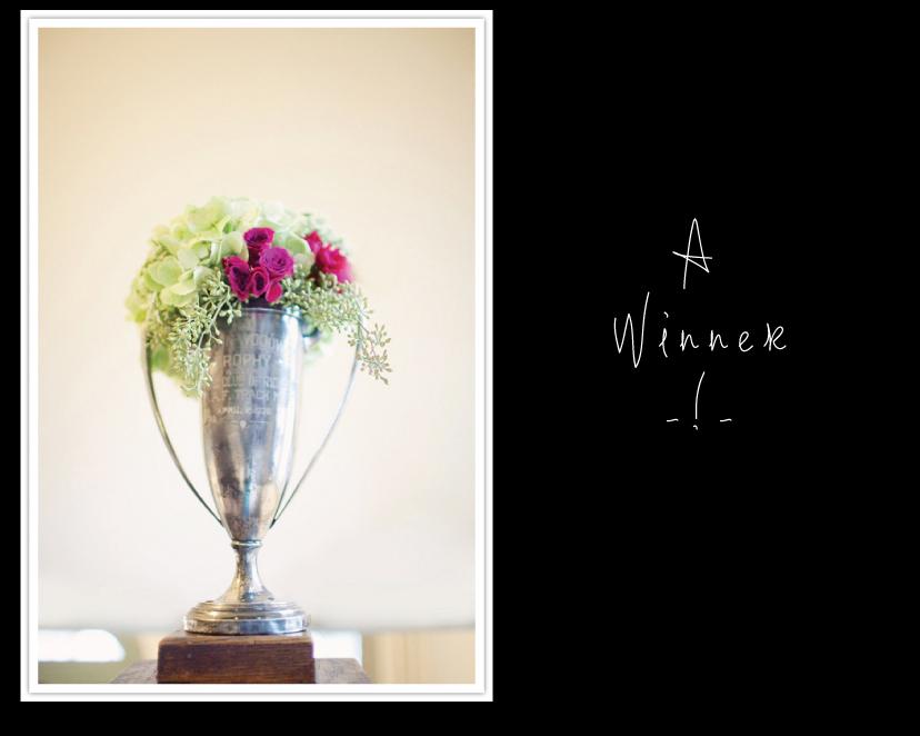 A winner on Ritzy Bee's blog