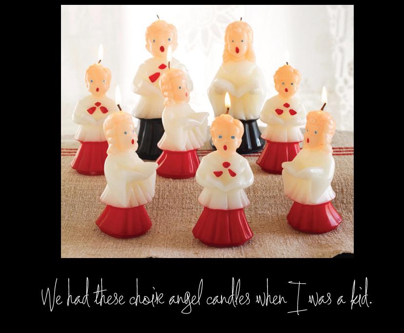 Choir Angel Candles - Wisteria