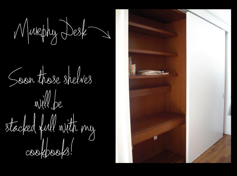 Murphy Desk and Coat closet
