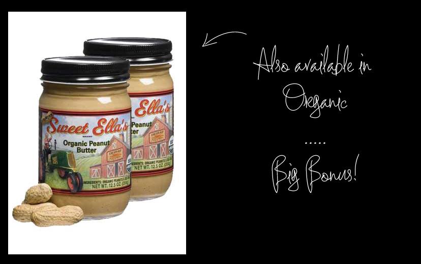 Sweet Ella's Organic Peanut Butter