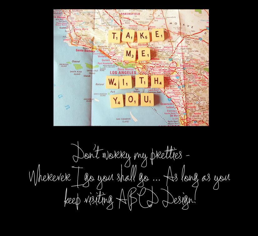 Wherever YOU go I shall go..
