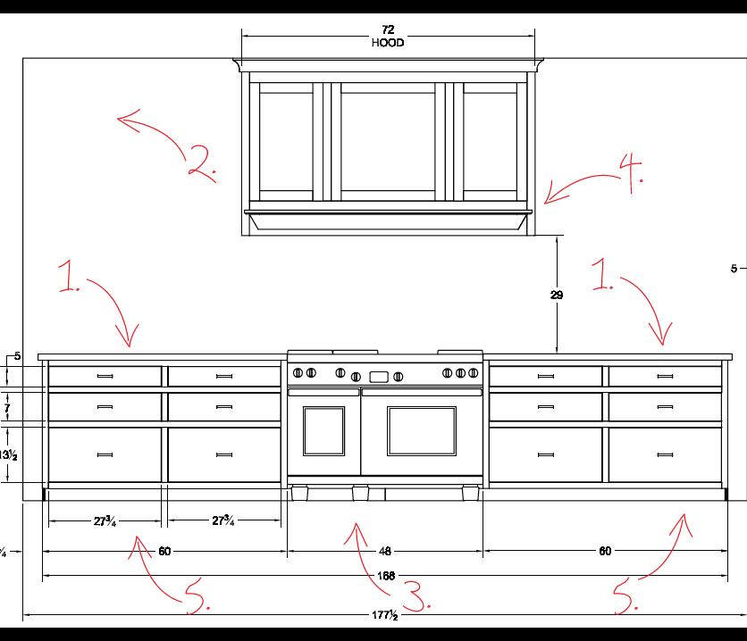 Abcd Design Sneak Peek Of The Kitchen Sketches