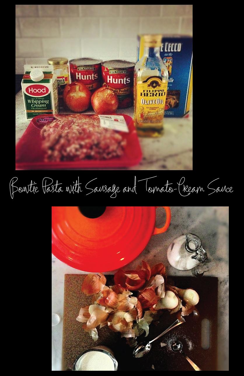 Bowtie-Pasta-with-Sausage-and-Tomato-Cream-Sauce