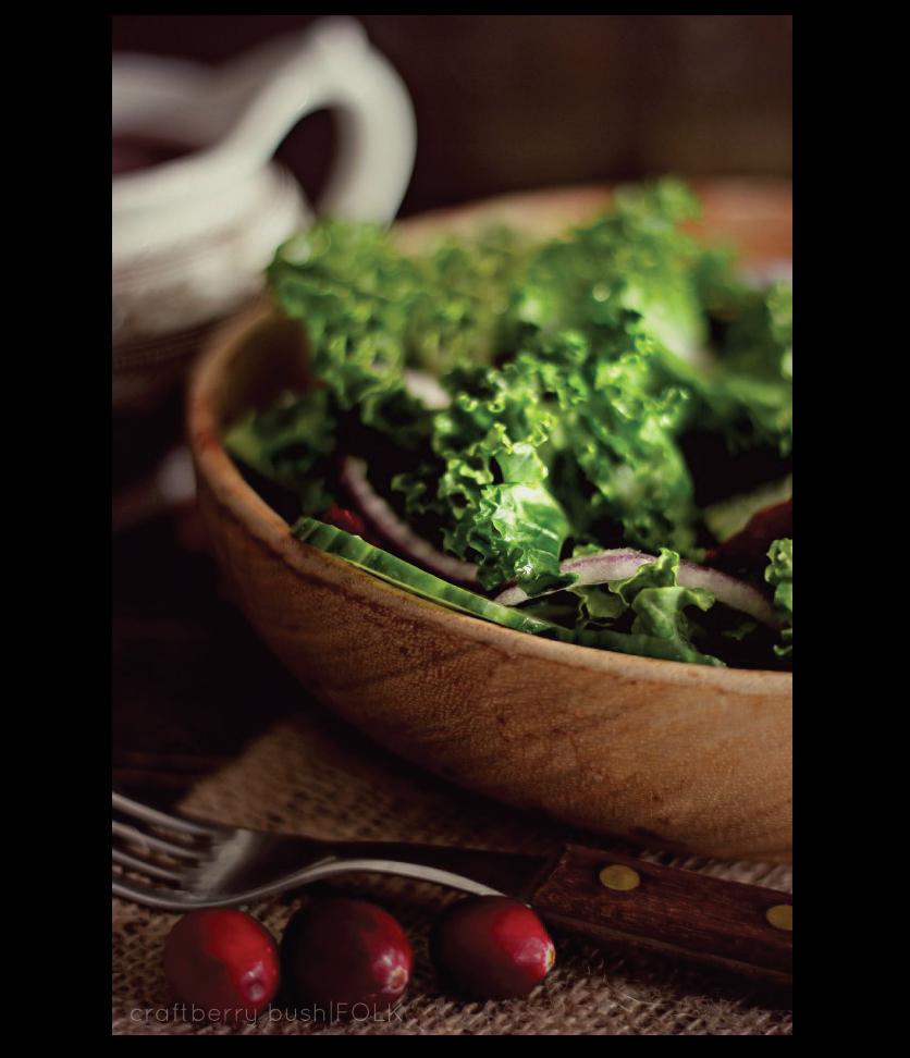 Cranberry-Kale-Salad