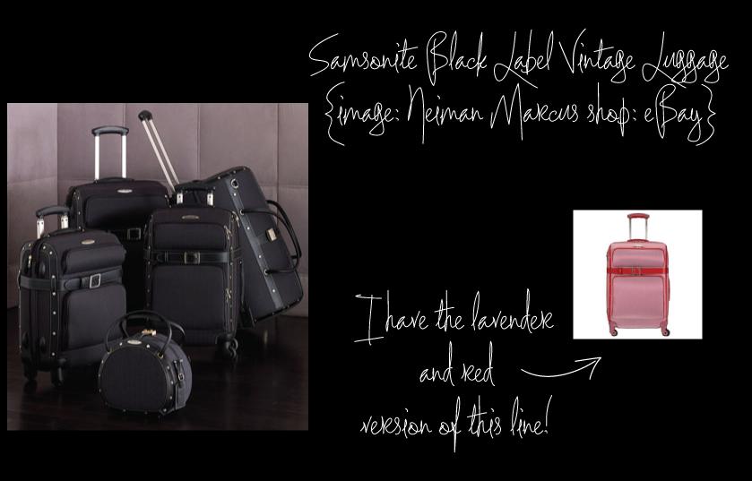 Samsonite-Black-Label-Vintage-Luggage