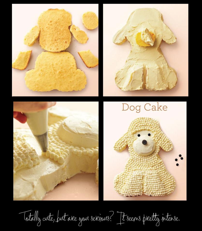 Cake-Shaped-like-a-dog
