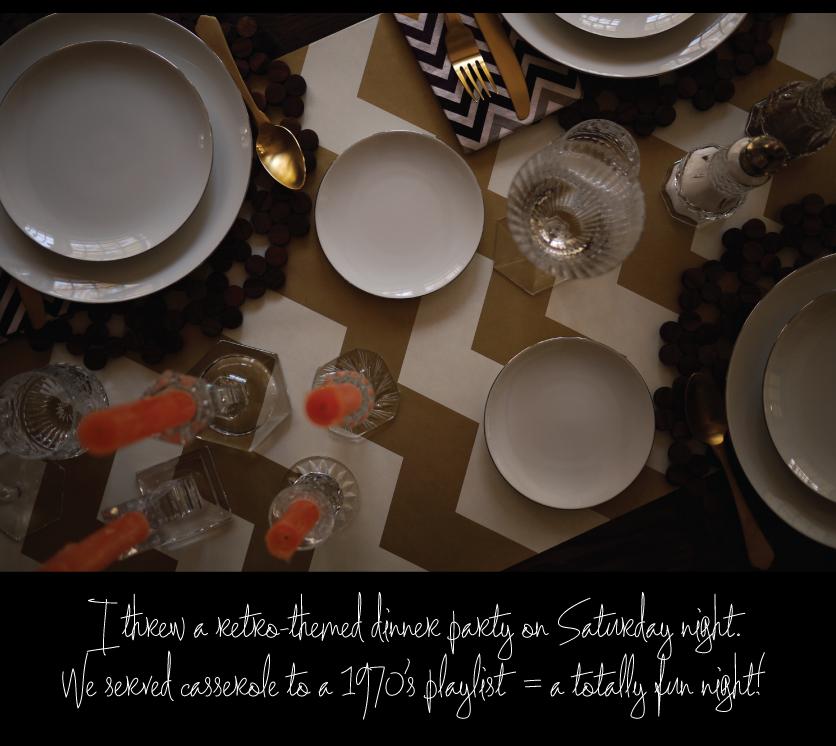 Retro-Theme-Dinner-Party