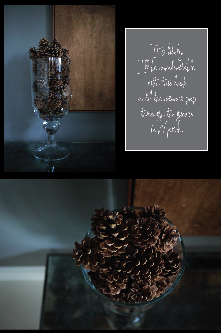 Pinecones-piled-high-in-Footed-Glass-Hurricanes