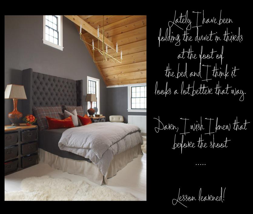Master-Bedroom-Black-Window-Sashes-Industrial-Nightstands-Wingback-Headboard