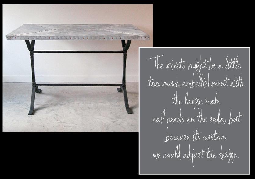 Custom-Zinc-Top-Trestle-Table