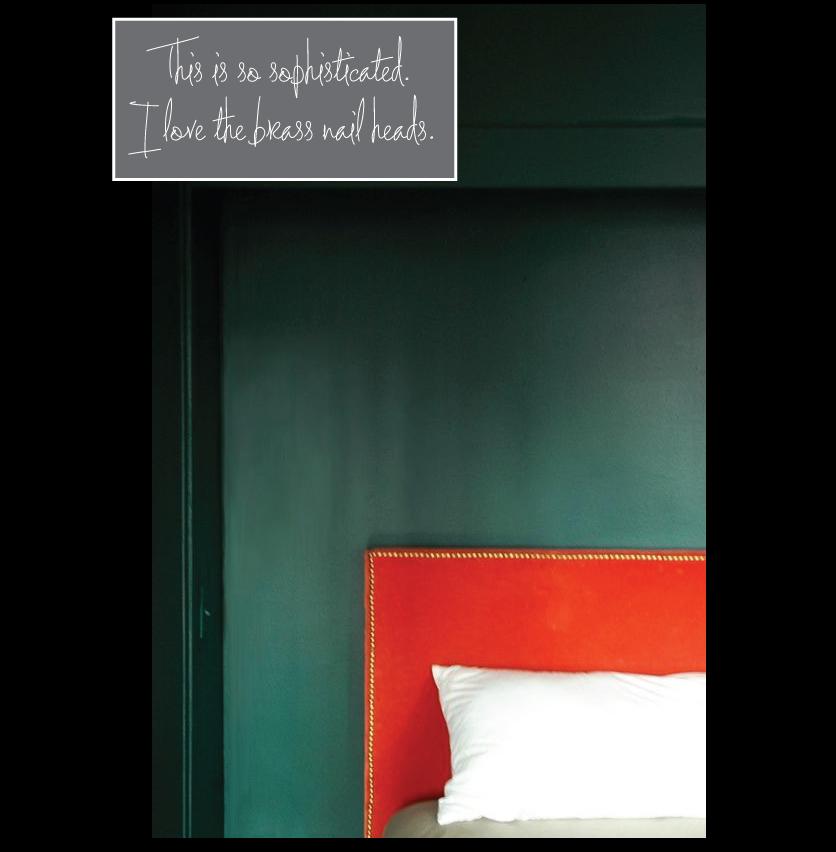 teal-walls-coral-velvet-headboard