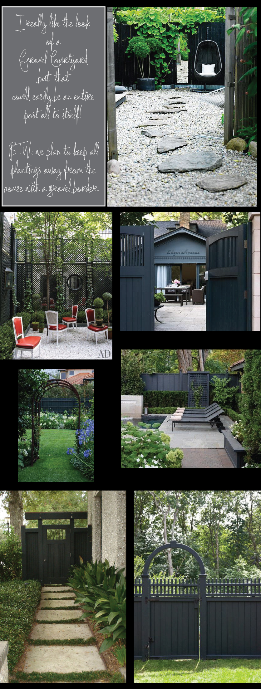 Different-Styles-of-Fencing-Stained-Black